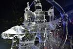 Ice sculpture in London.