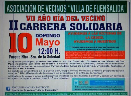 II Carrera Solidaria de Fuensalida