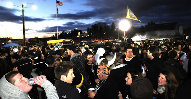 University of Idaho tailgate