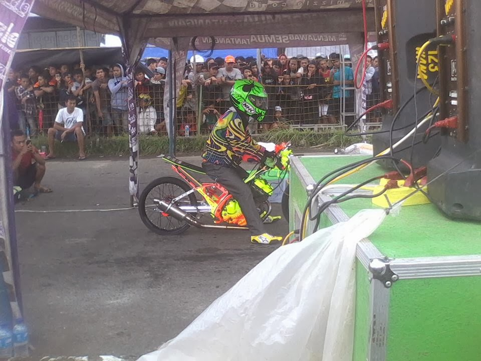 Hasil Drag Bike Tegal 9 Februari 2014