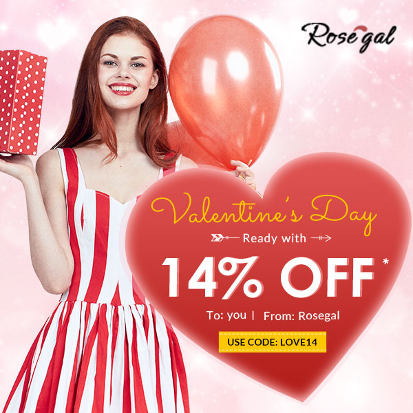 Rosegal Valentine's Day