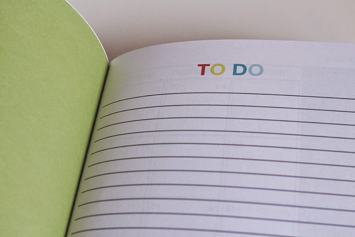 planner 2015: To do page
