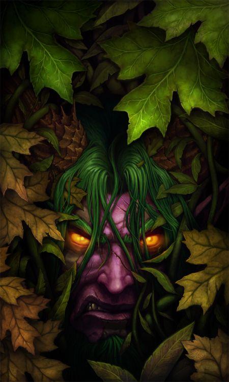 John Polidora ilustrações arte conceitual fantasia games blizzard livro Stormrage, baseado no mundo de World of Warcraft