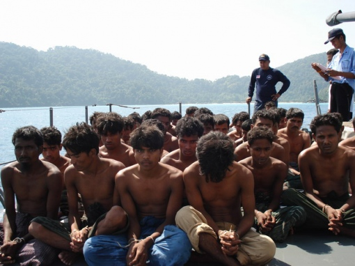 "AUSTRALIA DEFENDS PLAN TO SEND ""BOAT PEOPLE"" TO MALASIA"