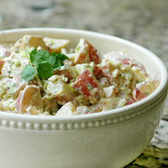 Flavorful Cilantro Potato Salad