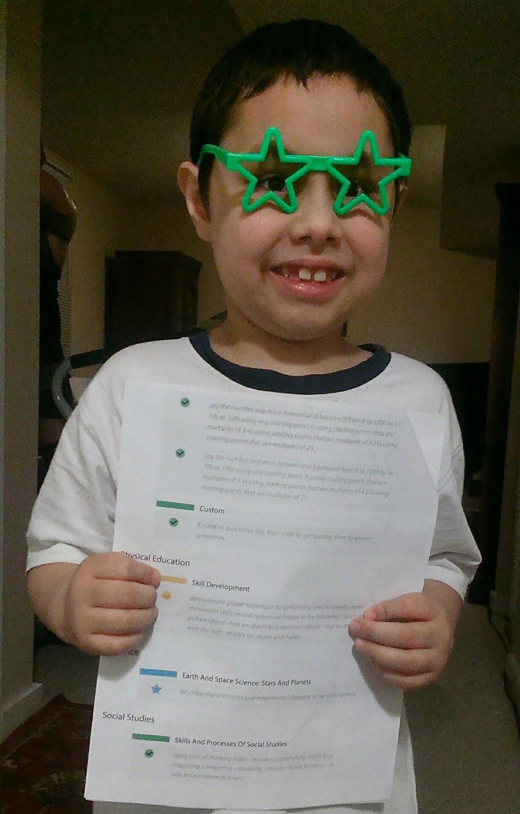 My Grade 3 Report Card