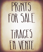 PRINTS FOR SALE / TIRAGES EN VENTE