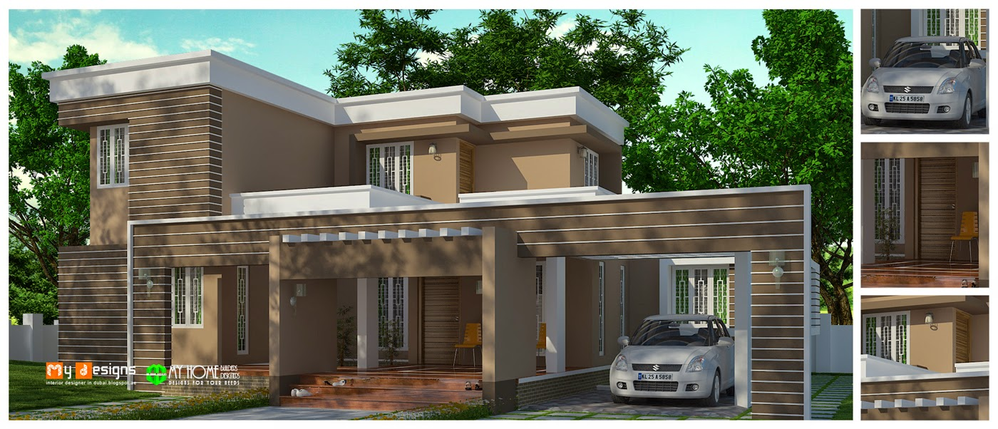 Modern home design in kerala