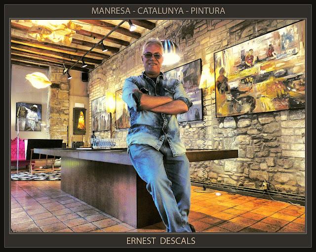 PINTURA-CATALUNYA-MANRESA-EXPOSICIONS-FOTOS-ARTISTA-PINTOR-ERNEST DESCALS-
