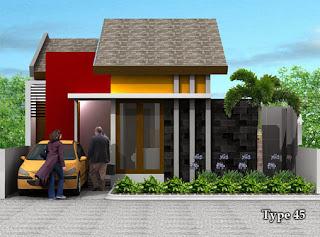warna warni rumah minimalis: rumah kontemporer dekorasi