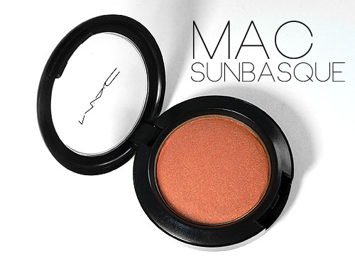 MAC Sunbasque Blush Review