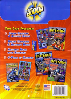 Back of Batman Fun Case