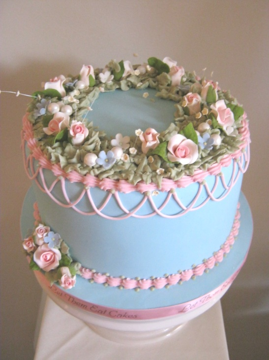 Let Them Eat Cakes Shabby Chic Cake