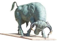 Estatua Toro de Cuerda