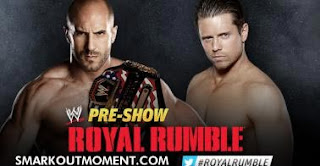 Watch Royal Rumble 2013 PPV Antonio Cesaro vs Miz United States Championship Match