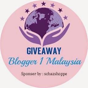 http://schazjohari.blogspot.com/2014/08/giveaway-blogger-1-malaysia.html