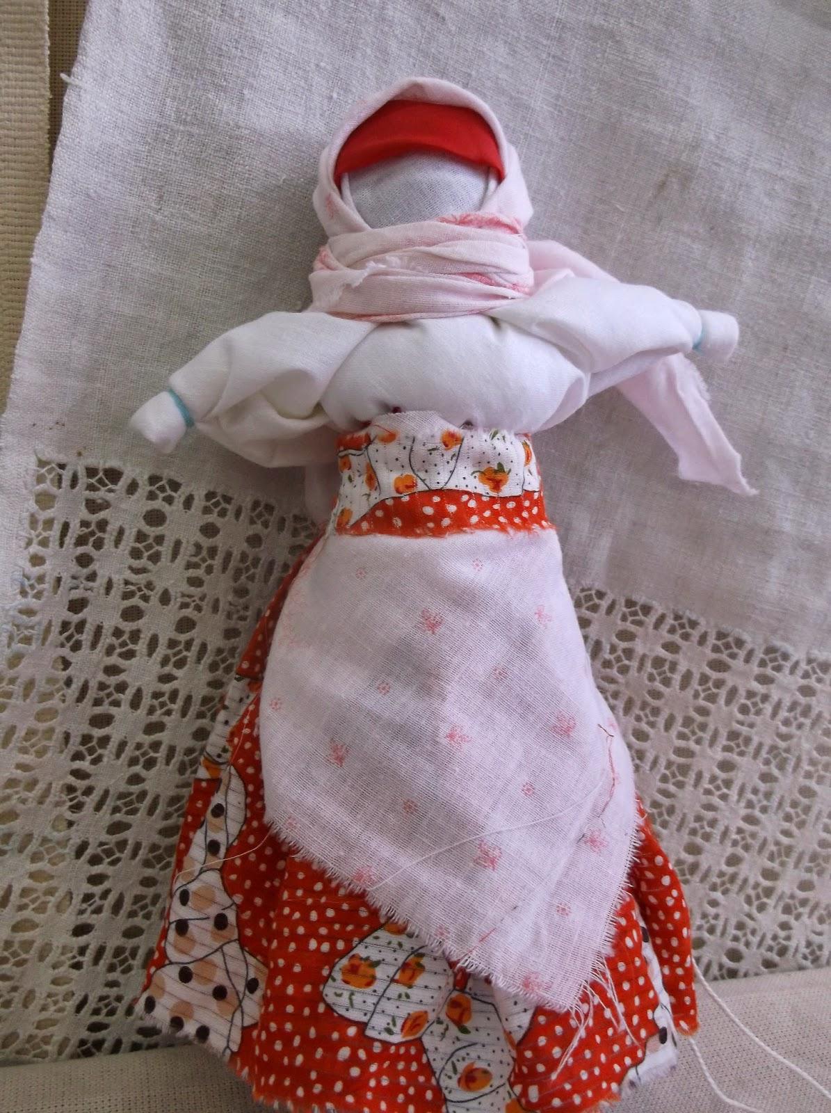 Славянские куклы. Делаем оберег на счастье и достаток 32