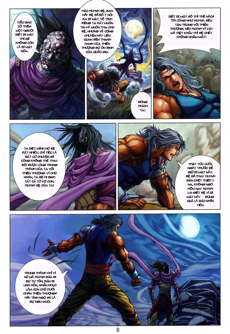 Tứ Đại Danh Bổ chap 222 Trang 8