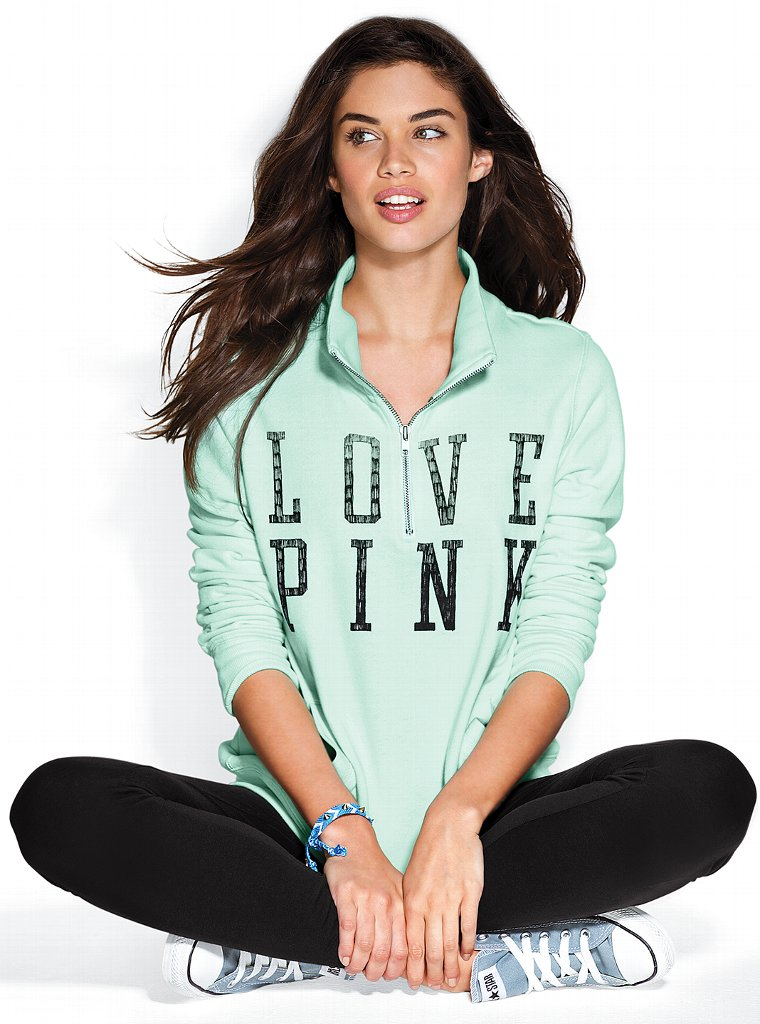 Sara Sampaio for VS Pink, December 2012