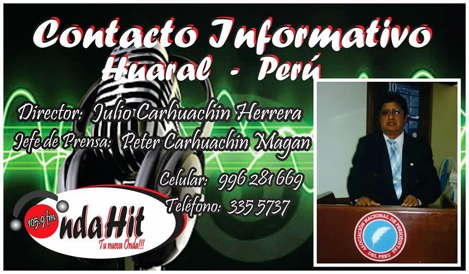 Contacto Informativo Huaral - Perú