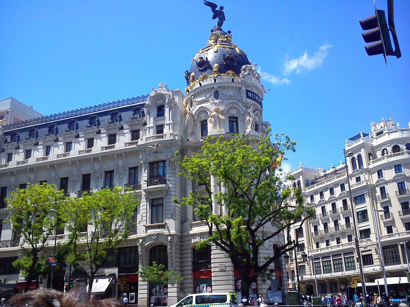 Por la calle de alcal una ma ana en madrid - Arquitecto espanol famoso ...