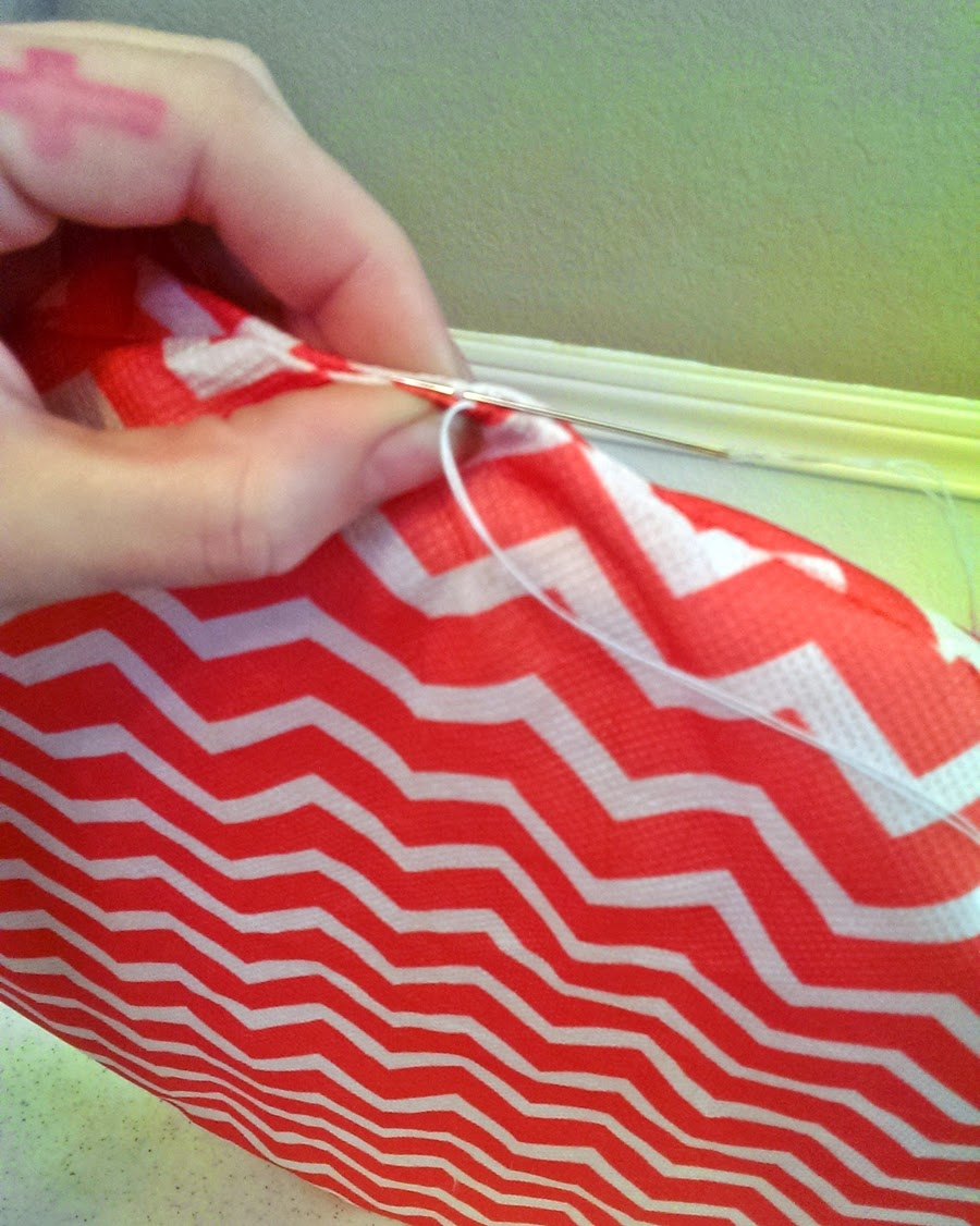 How to Sew Ladder Stitch for Outdoor Cushions