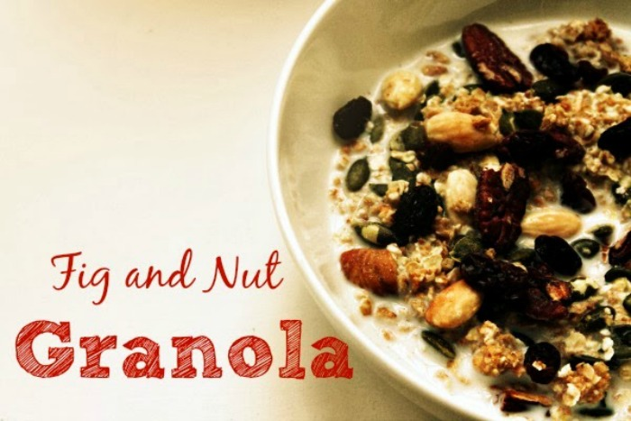 Fig and Nut Granola