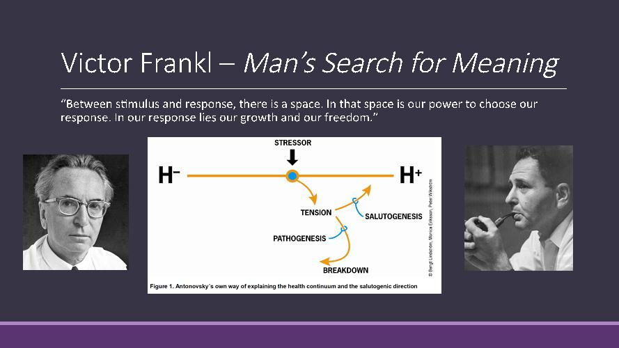 man's search for meaning response paper Read this essay on reflections on man's search for meaning come browse our large digital warehouse of free sample essays get the knowledge you need in order to pass your classes and more.