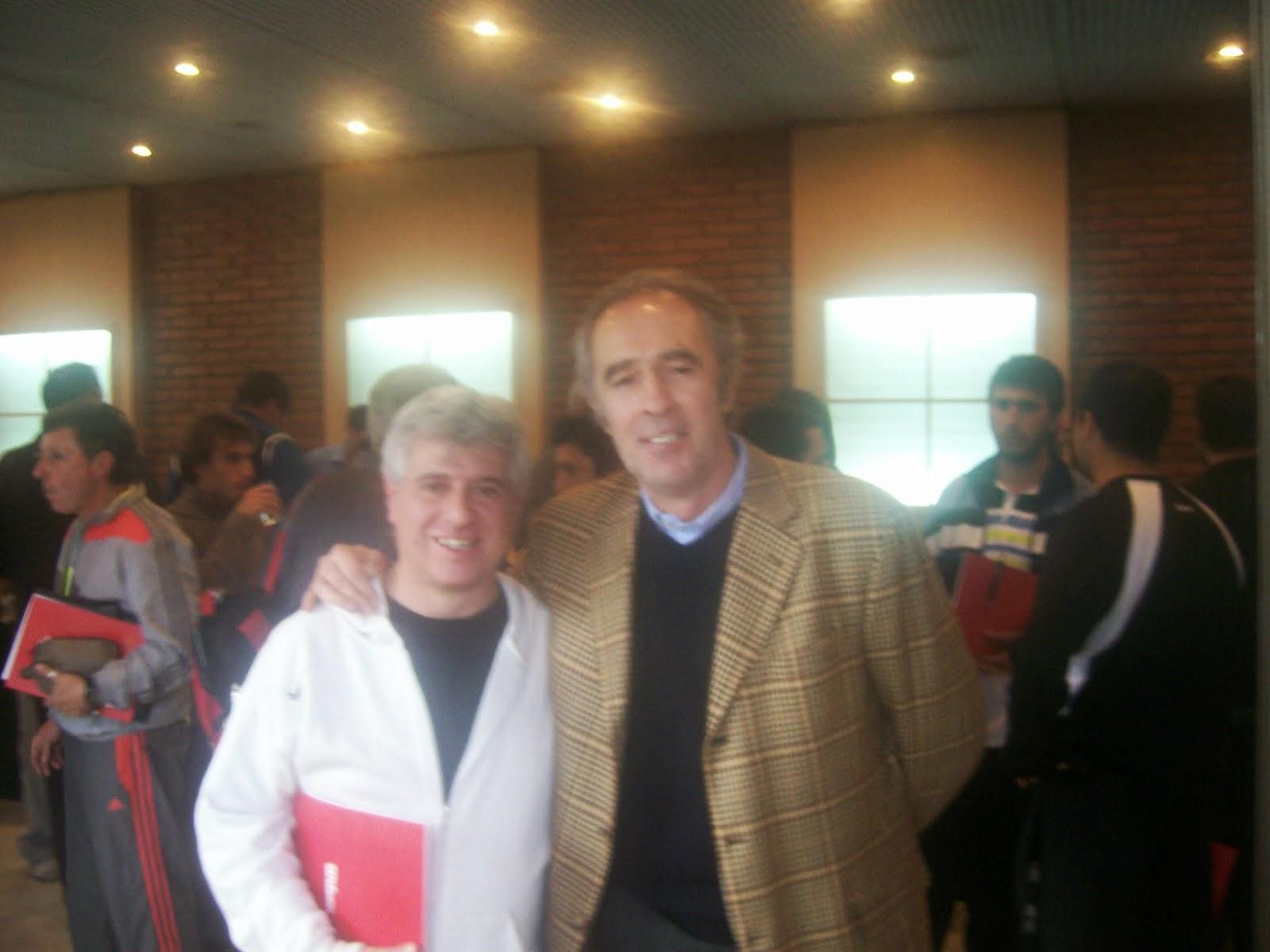 Con Juan Szafran (Periodista de ESPN Tenis y Court Central