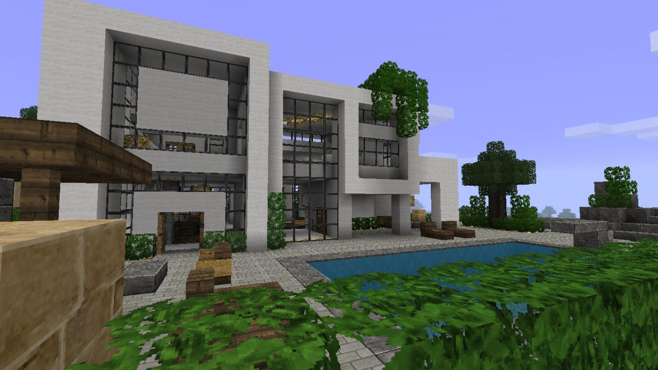 Plan belle maison moderne - Belle maison a construire ...