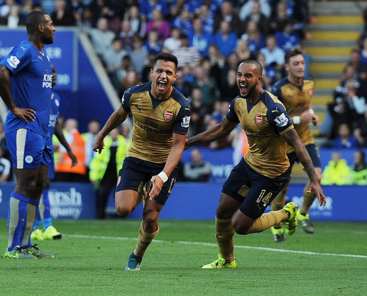 Leicester 2 x 5 Arsenal - Premier League 2015/16