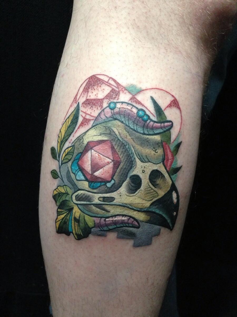 Bird Skull Tattoo Meaning - 286.4KB