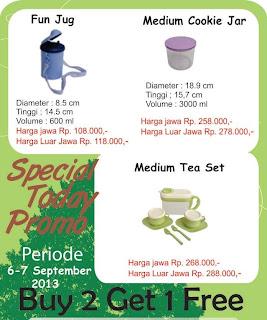 Promo Tulipware Tanggal 6-7 September 2013