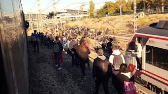 Caos en la Cercanías madrileñas