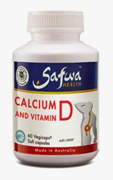 Safwa Health Calcium and Vitamin D