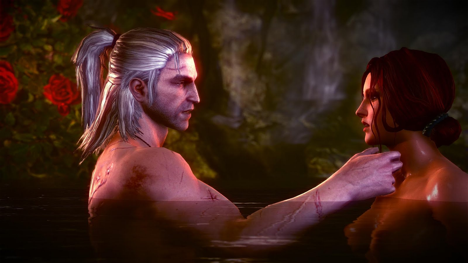 Witcher 2 nude scenes hentai natural stripper