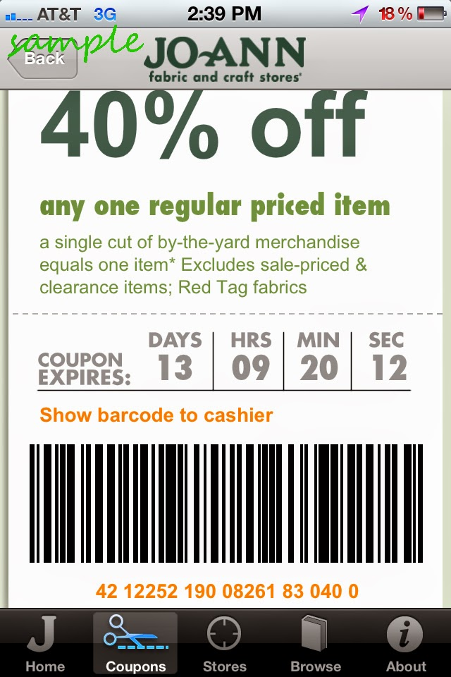 Joann Fabric is your source for fabrics and crafts at affordable prices. Now you can save even more with our easy-to-use Joann Fabrics coupons! One of the largest fabric and craft chains in the U.S., Joann Fabrics is a great source for all your hobby supplies.