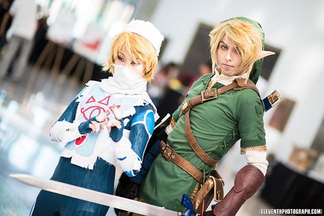 link cosplay zelda