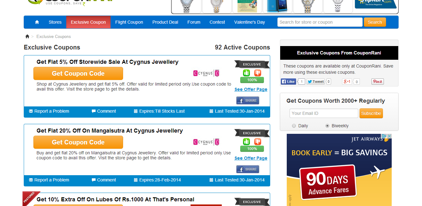 Canvirries coupon rani queen for The best cheap online shopping sites
