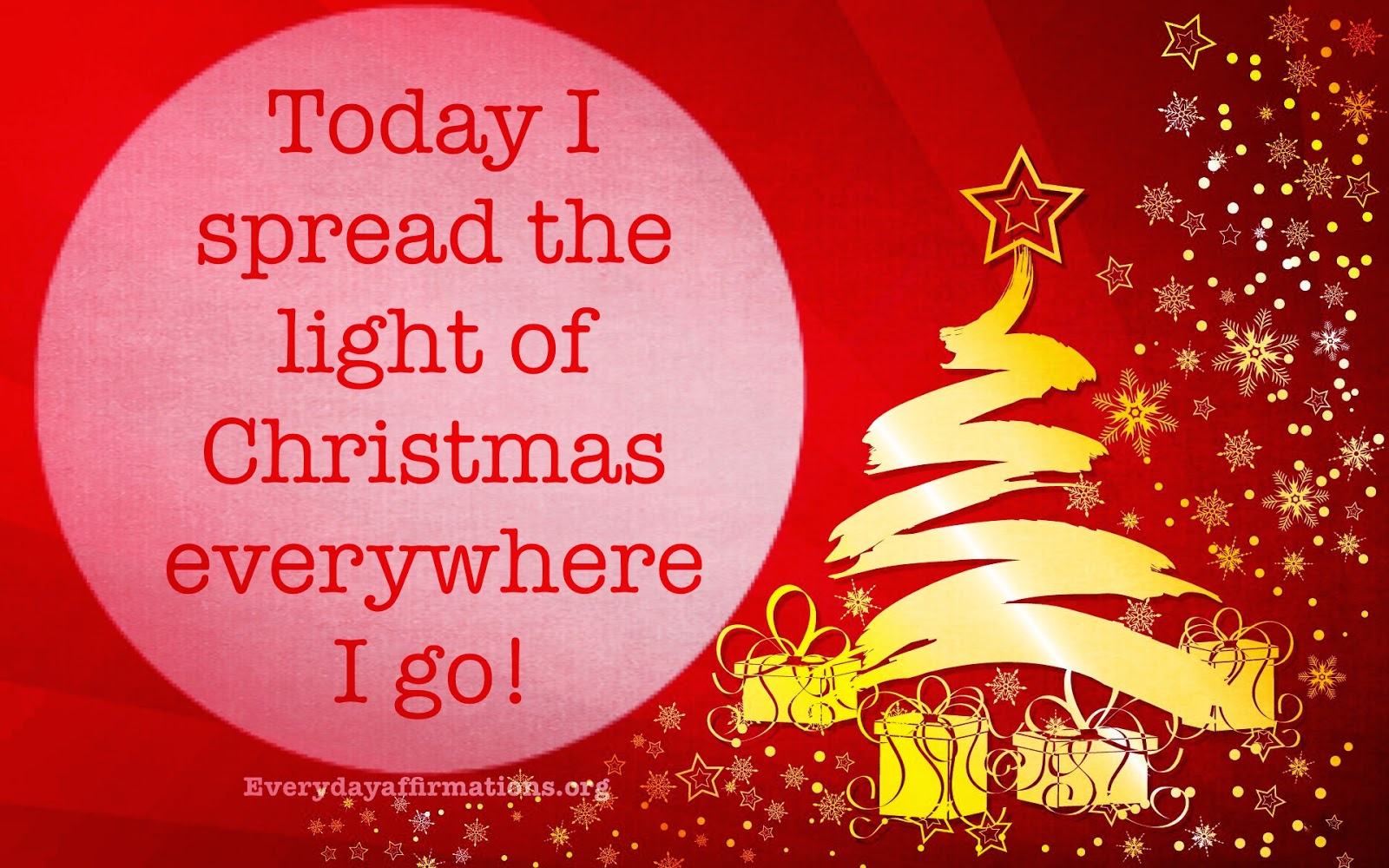 Daily Affirmations, Christmas Affirmations, affirmations for new year