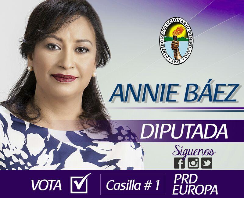 Annie Baez Diputada
