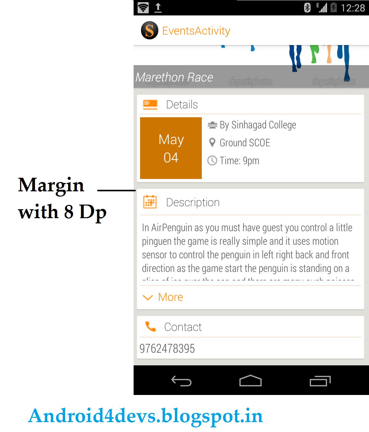 Margins For Apps