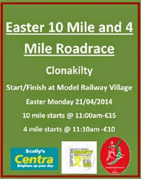 New 10 mile & 4 mile race in Clonakilty