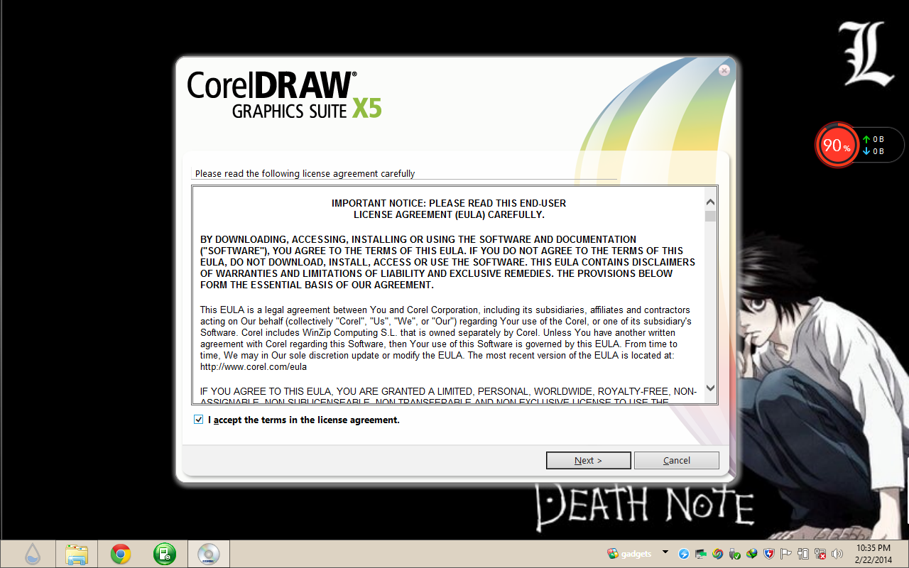 corel draw instalation