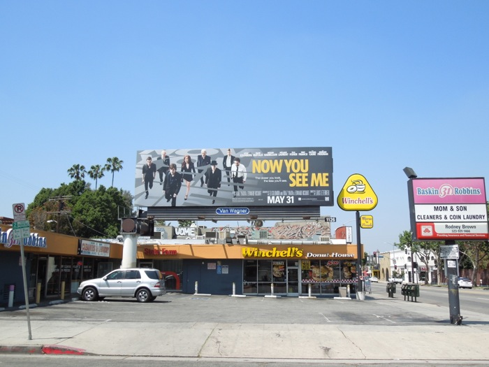 Now You See Me movie billboard