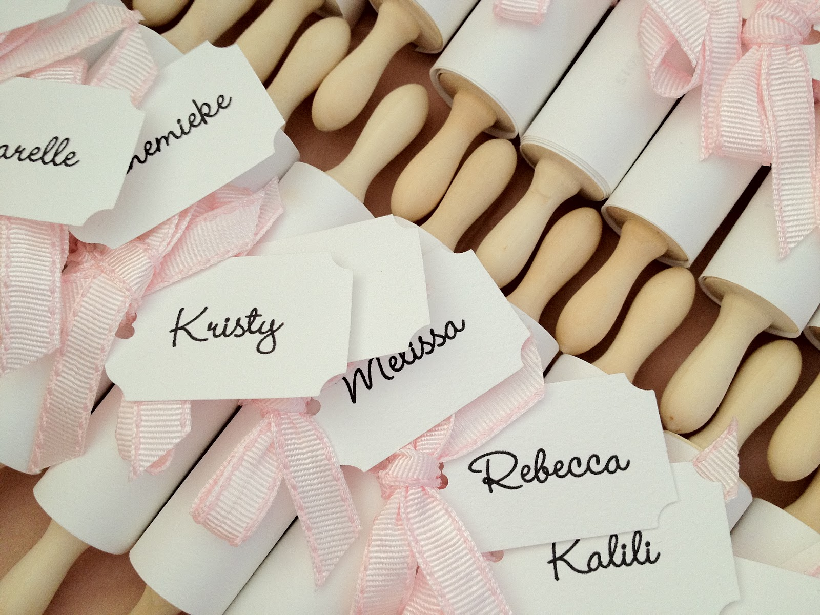 Kitchen Tea Gift For Guests S U G A R C O A T E D E V E N T S Elles Kitchen Tea Invitations