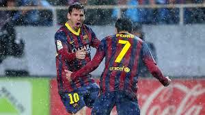 La vidéo des buts du match FC Séville 1 4 Barcelone ## Tous les Buts