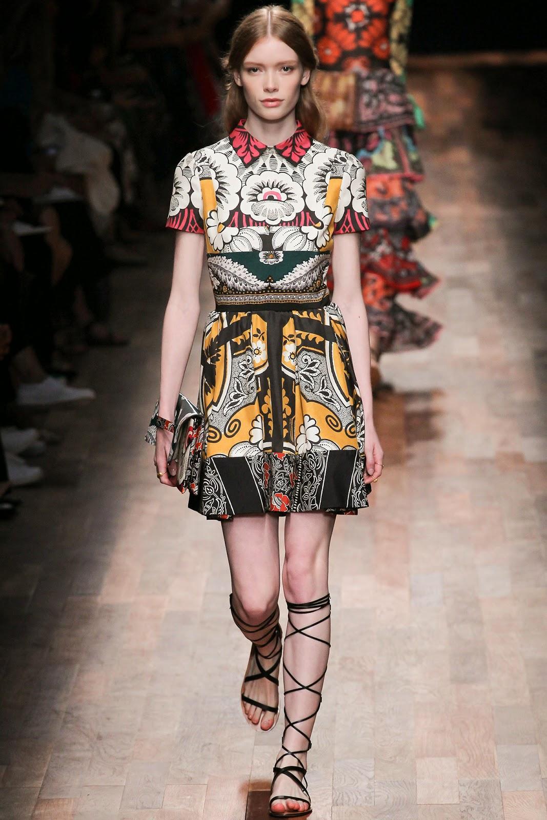 valentino 2015 summer 2016 trend women dress12 Valentino 2015 samling, våren sommaren 2016 Valentino klänning modeller, Valentino kväll klänning nya säsongen kvinnors kjolar modeller