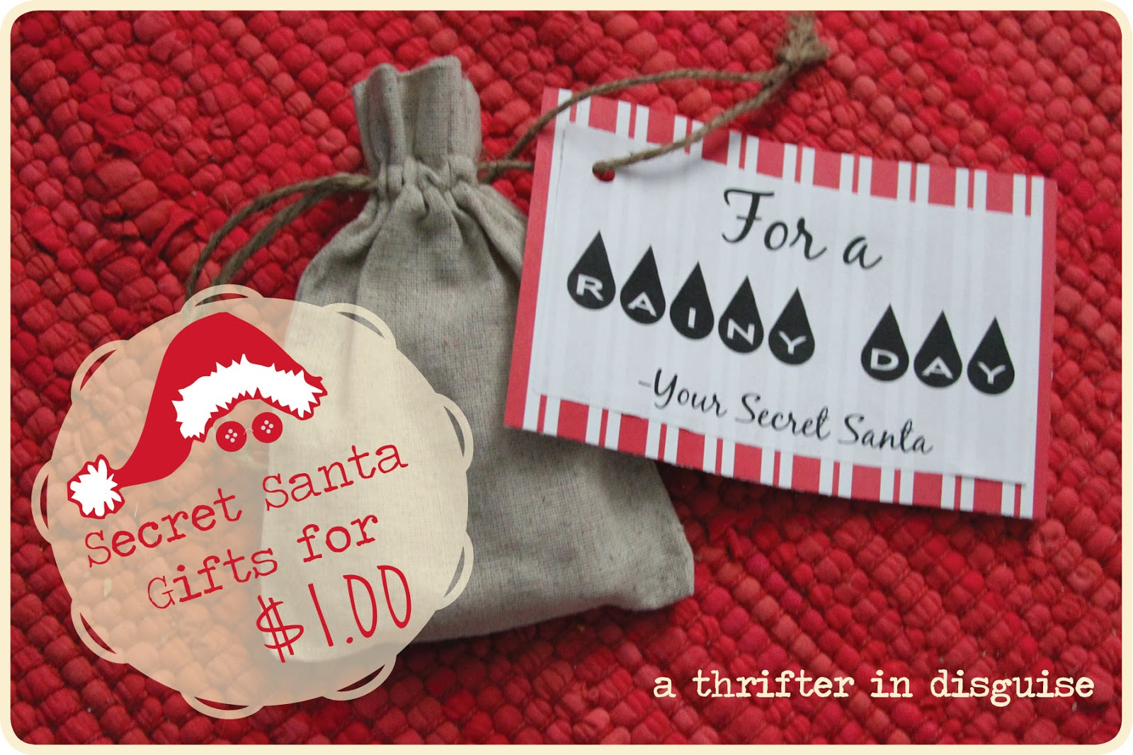 a thrifter in disguise secret santa saturday gifts for a dollar