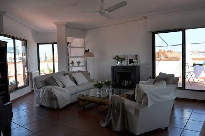 Home Staging: salón después de la intervención